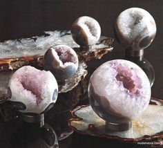 Roost Amethyst Spheres | Modish Store