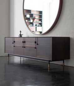 Contemporary Sideboards continue to be Stylish and Functional Additions to the Dining Room, BathRoom And Living Room. Sideboards in many styles, shapes, colors, and finishes |  www.bocadolobo.com  #bocadolobo #luxuryfurniture #exclusivedesign #interiodesign #designideas #sideboardideas #modernlivingrooms #contemporarydesign #cabinets #livingroomideas #diningroomideas #inspiration