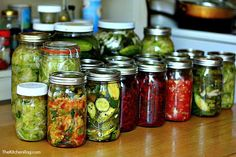 ♥Probiotics: Part One – Lacto-Fermentation♥ Very good article on the reasons to consume foods that have been fermented