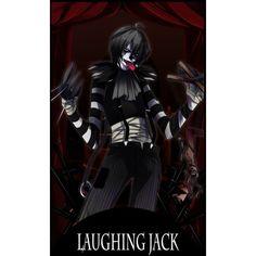 creepy pasta card 1st laughing jack by gatanii69 ❤ liked on Polyvore featuring creepypasta