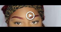 Peacock Eye Makeup, Bold Lip Makeup, Blue Eye Makeup, Eyebrow Makeup, Hair Makeup, Fall Makeup Tutorial, Smokey Eye Makeup Tutorial, Eyebrow Tutorial, Tutorial Nails