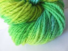 Handspun Yarn / Hand Spun Hand Dyed Yarn / by FiberCreationStudio, $15.00