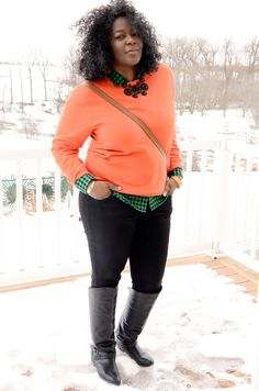 My Curves & Curls™ | A Canadian Plus Size Fashion blog: {WEEKEND SWAG}