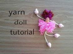 How to make toothpicks dolls - YouTube