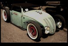 Volksrod VW beetle custom hot rod ( RAT ROD )
