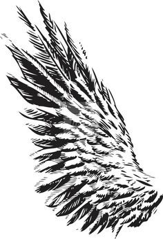 Image for Tattoo Designs Eagle Wings Wing Tattoo Designs, Tattoo Designs And Meanings, Tattoos With Meaning, Old Tattoos, Line Tattoos, Tatoos, Eagle Wing Tattoos, Tattoo Eagle, Wings Drawing