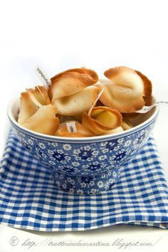 Cucina cinese: Biscotti della fortuna