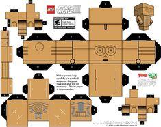 CP30 Papercraft templates