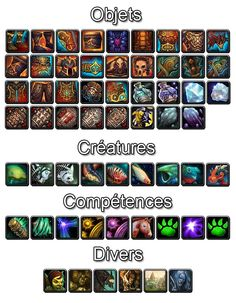 Various WoW:MoP icons 2