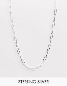 100.- Thomas Sabo – Klassische Halskette mit Anhänger aus Sterlingsilber Asos, Sterlingsilber, Silver, Jewelry, Scarves, Jewlery, Jewerly, Schmuck, Jewels