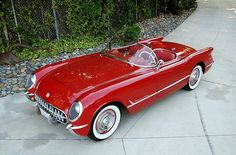 Sportsman Red… 1954 Blue Flame C1