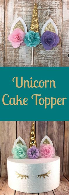 This makes decorating a unicorn cake so much easier. It's so pretty. I bet my little girl would be thrilled. #unicorn #birthday #ad #unicornbirthdayparty