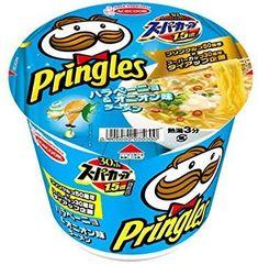 Japanese Snacks, Japanese Candy, Kfc Christmas, Pringle Flavors, Cup Ramen, Potato Chip Flavors, Noodle Maker, Noodle Cup, Instant Ramen