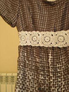 crochet idea for belt - no pattern