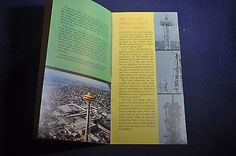 1962 Your Adventure in Seattles Space Needle Worlds Fair Brochure