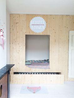 #DIY #Zelfmaken een #bedstee | Kinderkamerstylist.nl