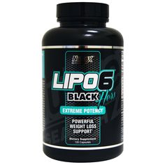 Sports Diet and Weight Loss: Nutrex Lipo 6 Black Hers 120 Caps. - For Women - Weight Loss BUY IT NOW ONLY: $31.99