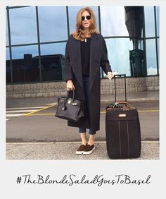 love this look from Chiara Ferragni The Blonde Salad, Airport Look, Airport Style, Street Chic, Street Style, Travel Chic, Travel Style, Maxi Coat, Giovanna Battaglia