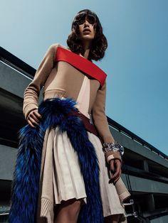 awesome Mica Arganaraz por Sebastian Kim para Vogue Espanha Novembro 2014 [Editorial]