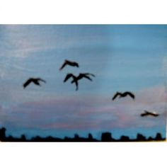 Flight, An Original ACEO Painting by Egilpatr for $50.00