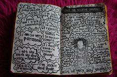 Wreck this journal.... Space for negative comments