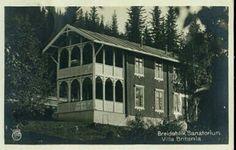 Breidablikk Sanatorium, Vaidres