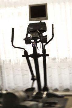 Full body elliptical workout