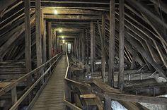 Roof walk Oak Framed Buildings, Tudor, Renaissance, Medieval, Most Beautiful, Gaming, Interiors, History, Room
