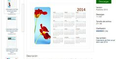 MontserratM programes ordinador*** Calendarios 2014 imprimibles para Microsoft Office