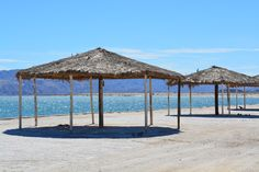 Gonzaga Bay at the Sea of Cortez, Baja California, Mexico. Baja California, Gazebo, Mexico, Outdoor Structures, Patio, Sea, Outdoor Decor, Travel, Home Decor