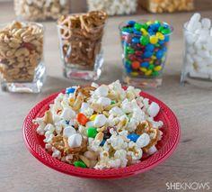 Create a custom popcorn buffet