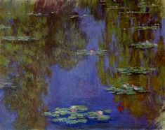 Landscapes art Water Lilies by Claude Monet oil paintings canvas High quality hand-painted Monet Paintings, Impressionist Paintings, Landscape Paintings, Claude Monet, Lily Painting, Painting Prints, Art Print, Print Poster, Giclee Print
