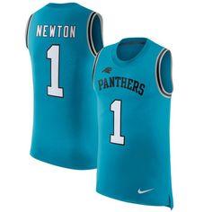 6f537f871 ... Cam Newton Carolina Panthers Nike Color Rush Player Name Number Tank  Top - Blue - Mens Carolina Panthers 73 Michael Oher NFL ...