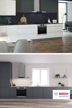 Kitchen Room Design, Kitchen Interior, Kitchen Decor, Home Building Design, House Design, Cuisines Design, Scandinavian Interior, Living Room Decor, Interior Design