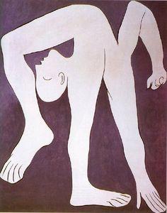 picasso - 1930 l'acrobate (musée picasso, paris)