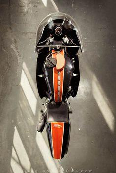 1972 ex-Team Obsolete Harley XR750 road racer ©Douglas MacRae. via douglas-macrae: