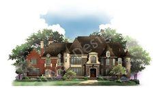 Bernini Estates House Plan - Front Rendering