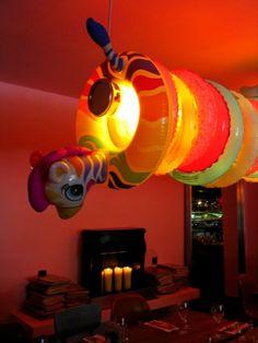 Lamp. Mama Shelter
