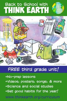 Free environmental education lessons for first grade from the ...
