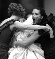 Sex and the City: This part of the movie ALWAYS makes me cry. Look at Charlotte, fierce mama bear.