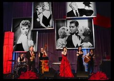 A dreamy old world feel featuring historic actors in larger than life black & white prints captured the heyday of classic Hollywood perfectly at #LACC Inaugural Awards. Designed by Cynthia Lopell Owner and Jackson Lowell Creative Director @CL22Productions and co-produced event with Backhand Productions. (Blog link in bio) (Vendors- Event Design: @CL22Productions | Main Sponsor- @United | Venue: @JWMarriotthotels at LA Live | Lighting: @LightenUp_Inc | Set Construction: Brian Rayner | Photos…