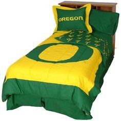 Oregon Ducks Collegiate Comforter Set