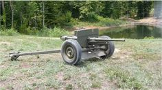 Original US 37mm M3 Anti-Tank Gun Live Fire - An American Weapon Based on German Pak 36