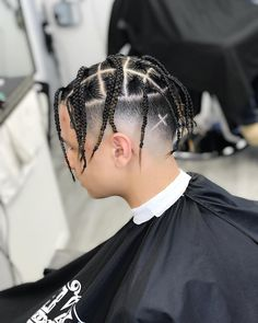 16 Best Braid Styles For Men In Tips & Tricks To Know 16 Best Braid Styles For Men In Tips & Tricks To Know - Men's Hairstyles # types of Braids tips # Braids styles for boys Box Braids Hairstyles, Twist Hairstyles, African Hairstyles, Hairstyles 2018, Braid Styles For Men, Best Braid Styles, Braid Designs For Men, Box Braids Men, Braids For Boys