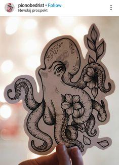 Dainty Tattoos, Dope Tattoos, Dream Tattoos, Future Tattoos, Body Art Tattoos, Small Tattoos, Simple Leg Tattoos, Tattos, Octopus Thigh Tattoos
