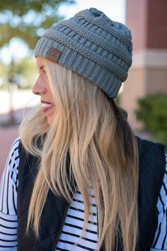 CC solid beanie. A best seller is back! You will LOVE the fit of this beanie and be sure to want more than one color! Extremely soft 100% acrylic. 9.5 diameter 8 in length. Lush Fashion Lounge boutiqu