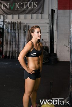 Camille. Why being shredded does not optimize your competitive WOD'n #CrossFit