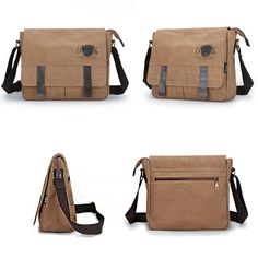 Men Canvas Vintage Business Casual Outdoor Crossbody Bag is hot-sale, many other cheap crossbody bags on sale for men are provided on NewChic. Cheap Crossbody Bags, Bosnia And Herzegovina, Men's Bags, Papua New Guinea, Grenadines, Grenada, Republic Of The Congo, Bag Sale, Ghana