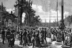 Vienna 1873, Visitatori (L'Esposizione universale di Vienna, Sonzogno, Milano 1873)