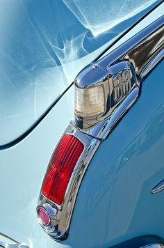 1950 Oldsmobile Rocket 88 Taillight - Car Images by Jill Reger